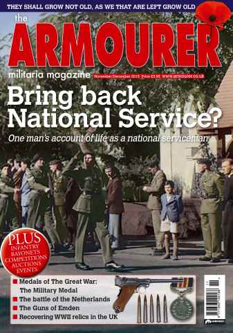 The Armourer issue Nov/Dec 2015