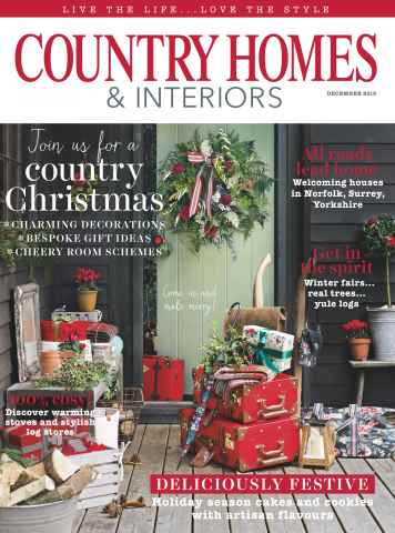 Country Homes & Interiors issue December 2015