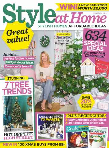 Style at Home issue December 2015