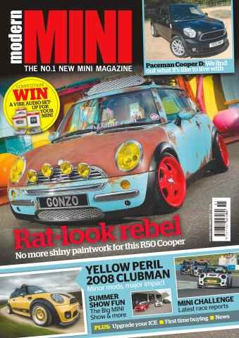 Modern Mini issue No. 75 Rat-look rebel