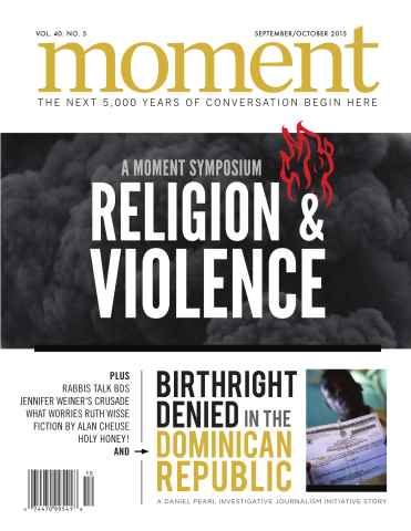 Moment issue Sept/Oct 2015