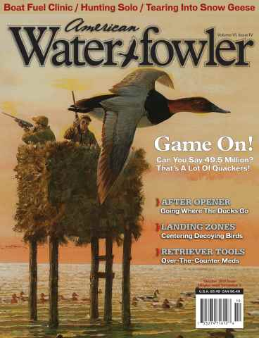 American Waterfowler issue Volume VI, Issue IV