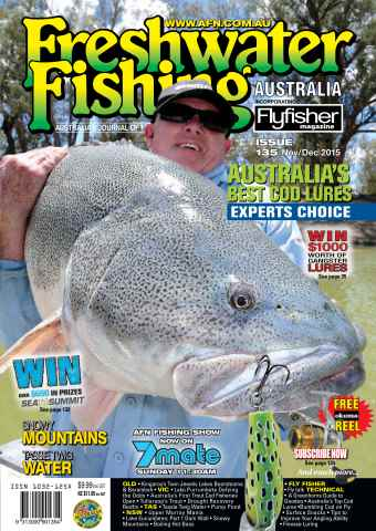Freshwater Fishing Australia issue Nov-Dec Issue 135