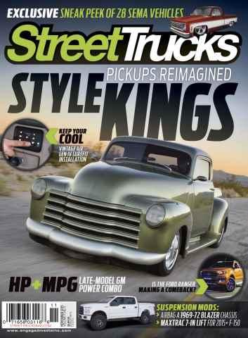 Street Trucks issue November 2015