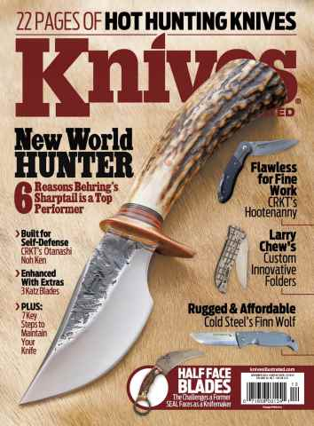 Knives Illustrated issue December 2015