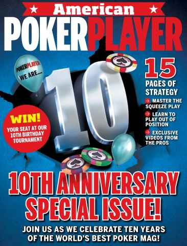 American PokerPlayer issue October 2015