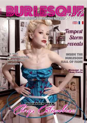 Burlesque Bible issue October 2015 (Autumn 2015)