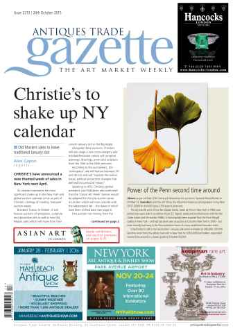Antiques Trade Gazette issue 2213