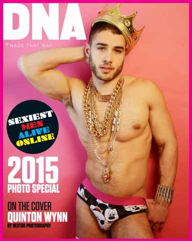 DNA Magazine issue Sexiest Men Alive Online 2015 Photo Special