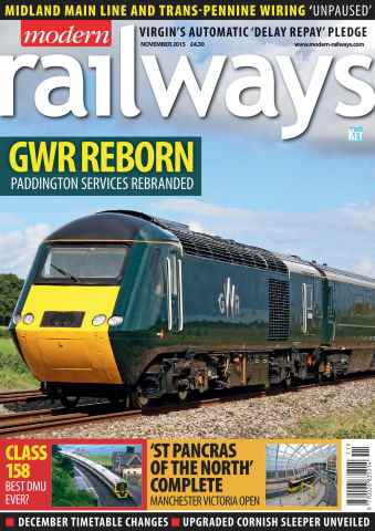 Modern Railways issue November 2015