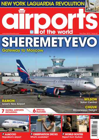 Airports of the World issue Nov/December 2015