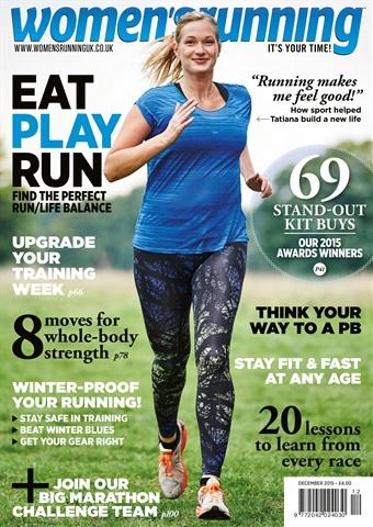 Women's Running issue women's running - Dec-15