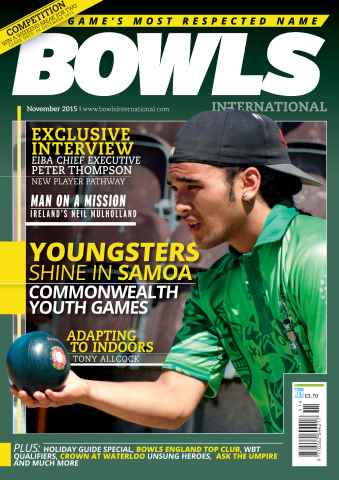 Bowls International issue November 2015