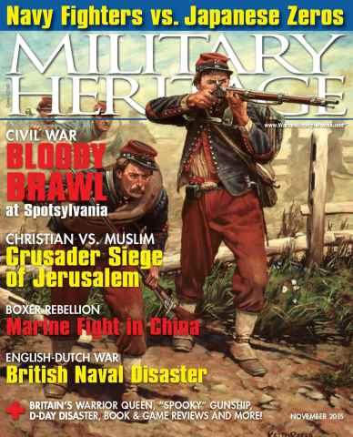 Military Heritage issue November 2015