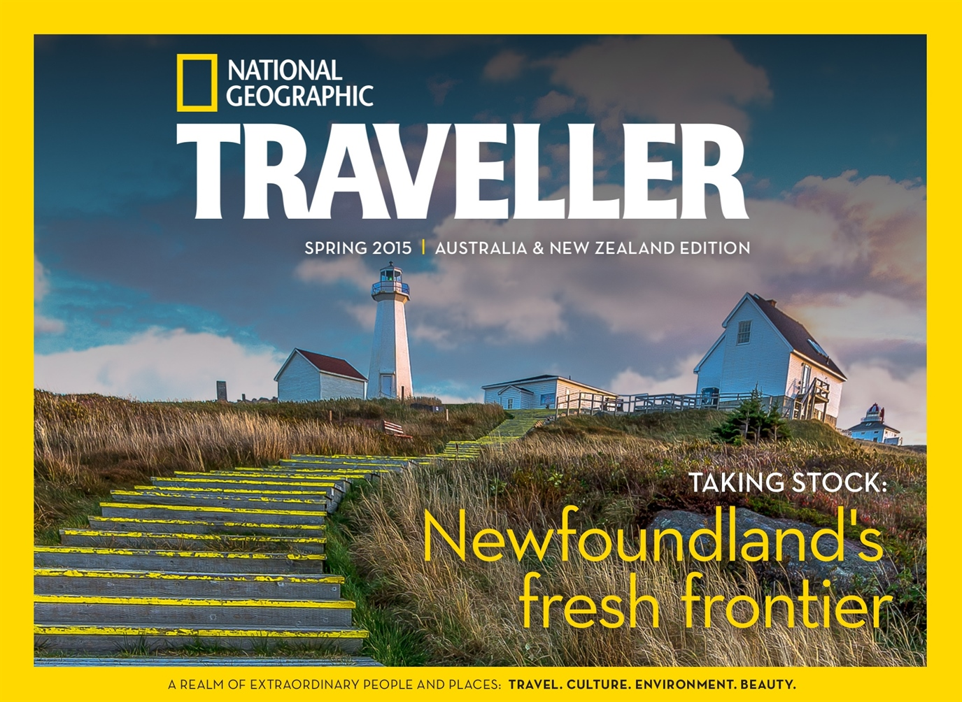 National Geographic Traveller Australia and New Zealand issue Spring 2015