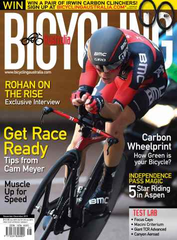 Bicycling Australia issue Nov/Dec 2015
