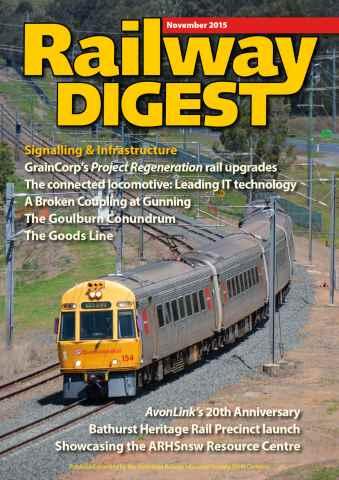 Railway Digest issue November 15
