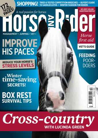 Horse&Rider Magazine - UK equestrian magazine for Horse and Rider issue Horse&Rider Magazine – December 2015