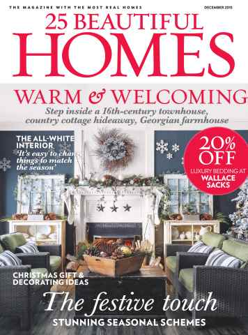 25 Beautiful Homes issue December 2015