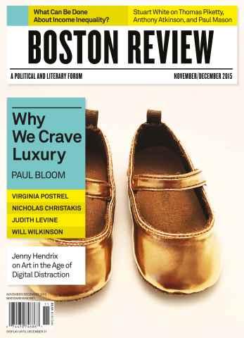 Boston Review issue Nov/Dec 2015