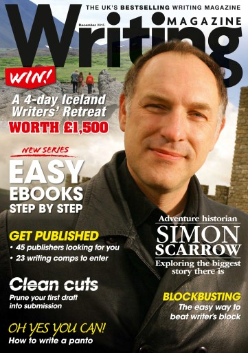 Writing Magazine issue December 2015