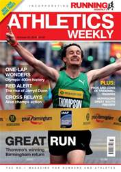 Athletics Weekly issue 22 October 2015