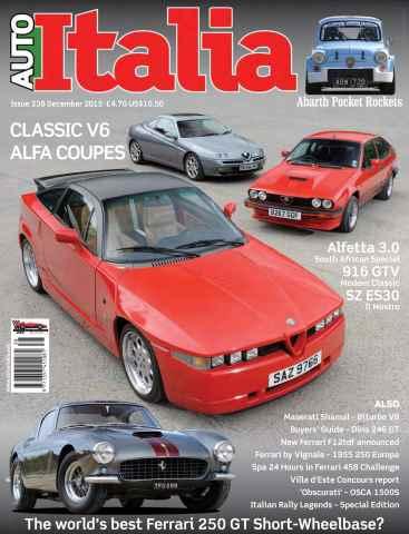 AutoItalia Magazine issue Auto Italia Issue 238