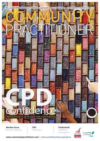 Community Practitioner issue November 2015