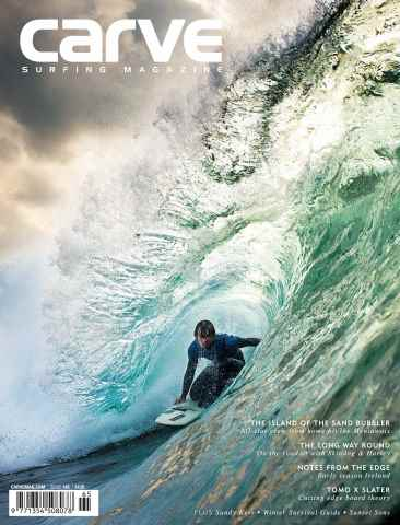 Carve issue Carve Surfing Magazine issue 165