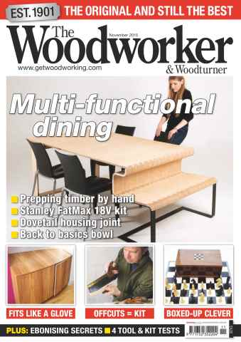 The Woodworker Magazine issue November 2015