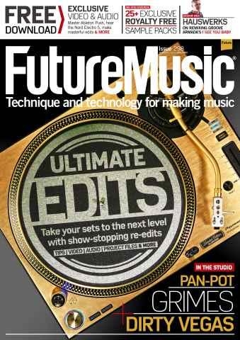 Future Music issue November 2015