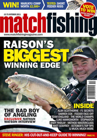 Match Fishing issue October 2011