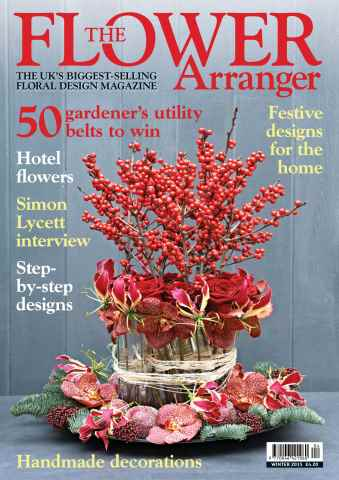The Flower Arranger issue Winter 15