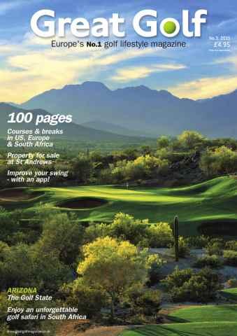 Great Golf Magazine issue Great Golf Magazine Autumn 2015