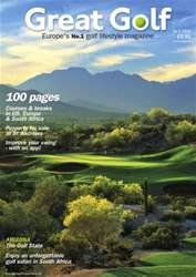 Great Golf Magazine Autumn 2015 issue Great Golf Magazine Autumn 2015