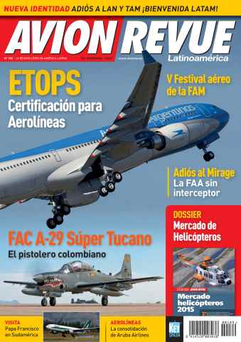 Avion Revue Internacional Latino issue Número 189
