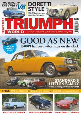 Triumph World issue No. 157 Good As New