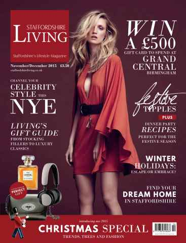 Staffordshire Living issue November/December 15