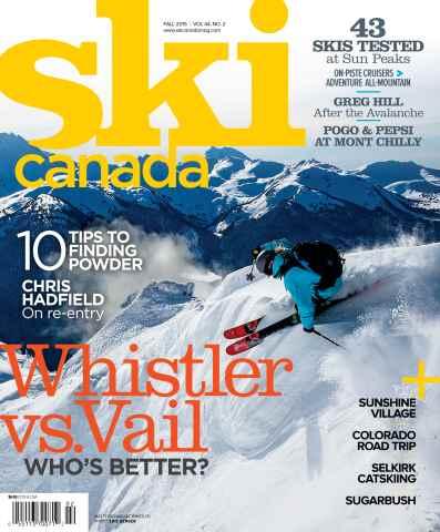 Ski Canada issue Fall 2015