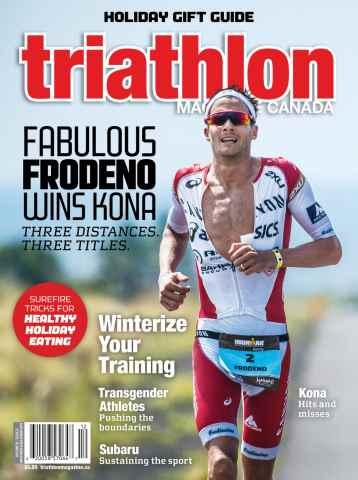 Triathlon Magazine Canada issue Volume 10 Issue 6