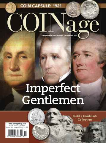 COINage issue November 2015