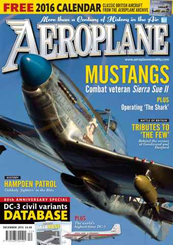 Aeroplane issue December 2015