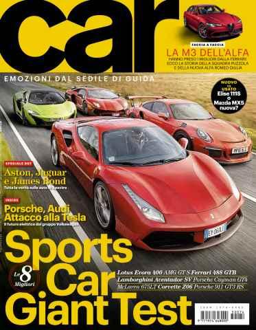 CAR magazine Italia issue SETTANTAQUATTRO