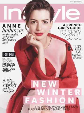 InStyle issue December 2015