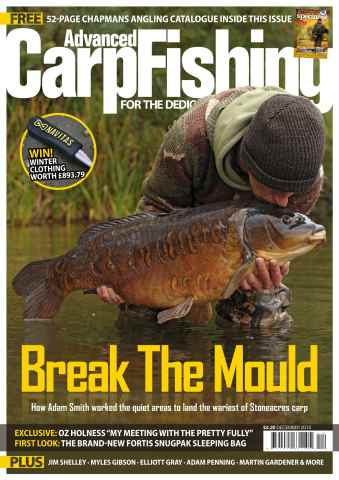Advanced Carp Fishing issue December 2015