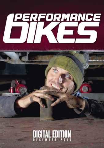 Performance Bikes issue December 2015