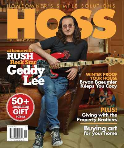 HOSS Magazine issue Holiday Issue 2015