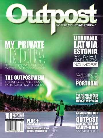 Outpost - Adventure Travel Magazine issue Nov/Dec #108