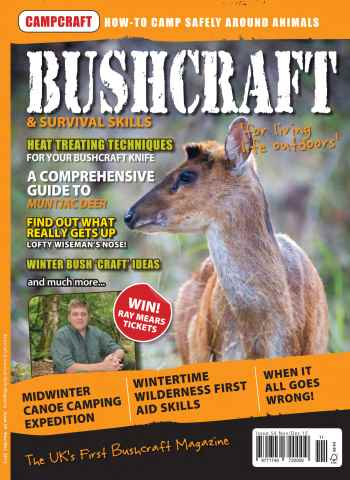 Bushcraft & Survival Skills Magazine issue Issue 59
