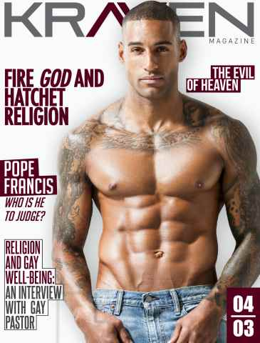 Kraven Magazine issue Religion Issue